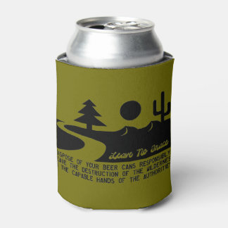 Don't Litter Beer Cans Can Cooler