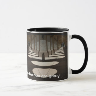 don't look back! Mug