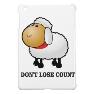 dont lose count sheep cover for the iPad mini