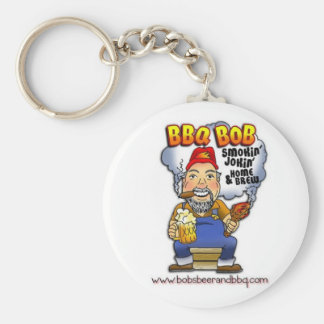 Don't lose your keys! BBQ Bob is here! Keychain