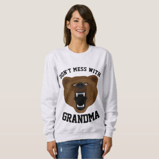 DON'T MESS WITH GRANDMA Funny T-shirts