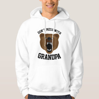 DON'T MESS WITH GRANDPA -BEAR- T-shirts & Hoodies