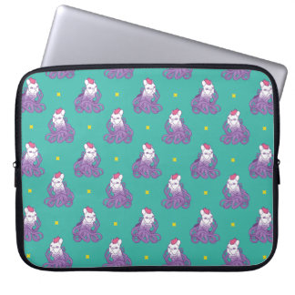 Don't Mess With Me Frenchie Design Laptop Computer Sleeve