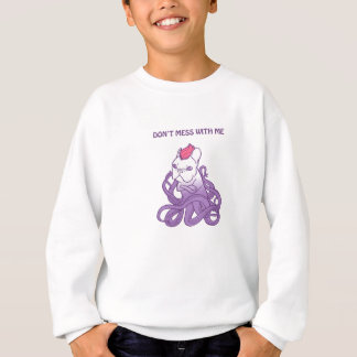 Don't Mess With Me Frenchie Design Sweatshirt