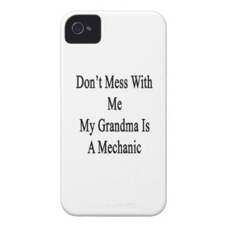 Don't Mess With Me My Grandma Is A Mechanic iPhone 4 Case-Mate Cases