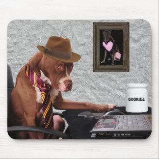Don't mess with my cookies mouse pad