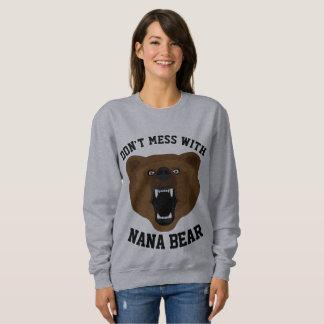 DON'T MESS WITH NANA BEAR funny Grandma T-shirts