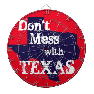 Don't Mess with Texas Dartboard