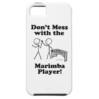 Don't Mess With The Marimba Player iPhone 5 Covers