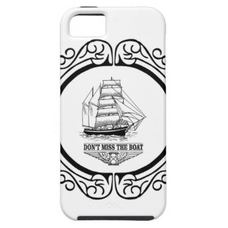 dont miss the boat yeah iPhone 5 case