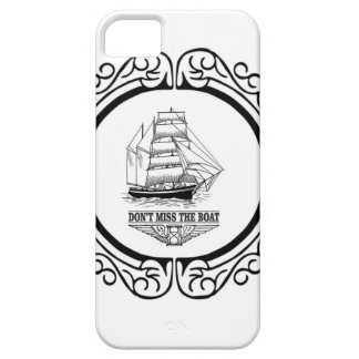 dont miss the boat yeah iPhone 5 cover