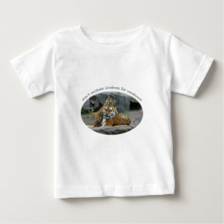 Don't Mistake Kindness For Weakness Baby T-Shirt