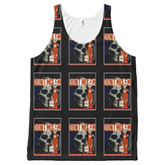 """Don't Mix Them"" vintage art tanktop All-Over-Print Tank Top"