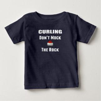 Don't Mock The Rock Curling T-Shirt