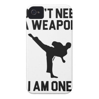 Don't Need a Weapon iPhone 4 Cover