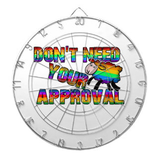 Dont need your approval dartboard