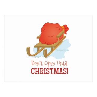 Dont Open Postcard