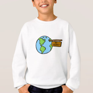 Don't overcrowd our planet sweatshirt