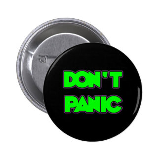 Don't Panic 2 Inch Round Button