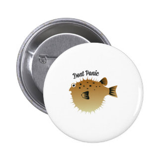 Dont Panic 2 Inch Round Button