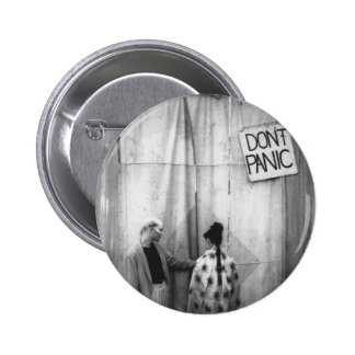 Don't Panic badge 2 Inch Round Button