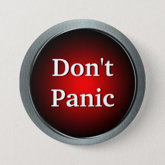 Don't Panic Button Pin