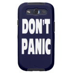 Don't Panic Galaxy SIII Cover