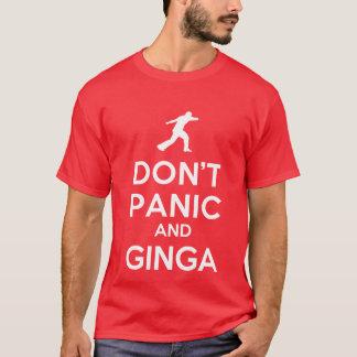 Don't Panic & Ginga Capoeira T-Shirt