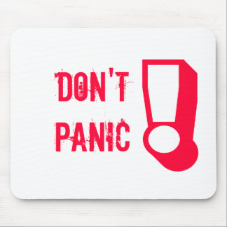 Don't PANIC! Mouse Pad