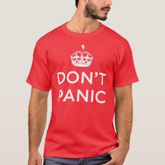 Don't Panic Red Tee