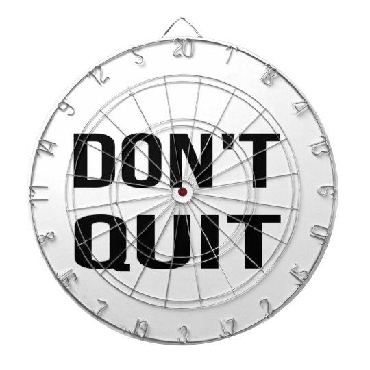 DON'T QUIT - DO IT Quote Quotation Determination Dartboard