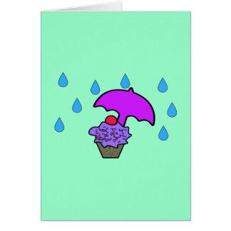Don't Rain On My Cupcake Card