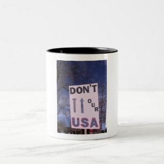 Don't Screw Our USA Mug
