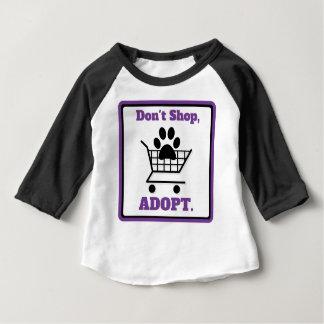 Don't Shop Adopt Baby T-Shirt