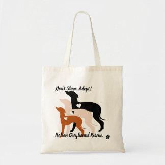 Dont Shop Adopt Italian Greyhound Rescue Tote Bag