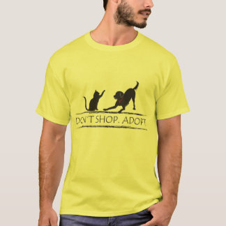 Don't Shop - Adopt! T-Shirt