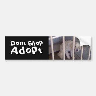 Dont Shop Bumper Sticker