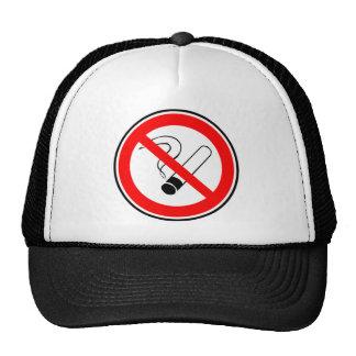 Don't smoke hats