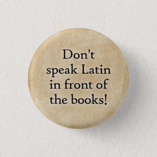Don't speak Latin button