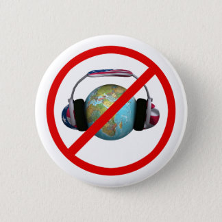 Don't Spy The World 2 Inch Round Button