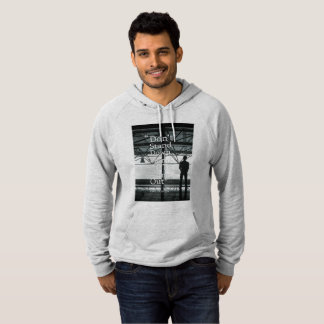 """Dont Stand Down.."" Mens Fleece Pullover Hoodie"