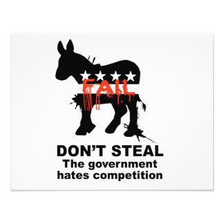 Don't Steal - The government hates competition Invites