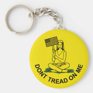 Dont Stomp On My Head Keychain