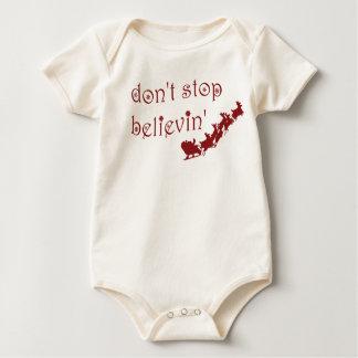Don't Stop Believin' Baby Bodysuit