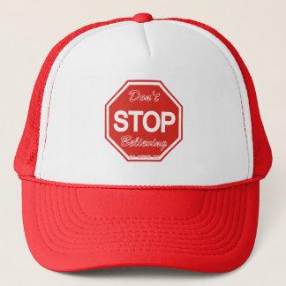 Don't stop believing cap