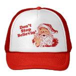 Dont Stop Believing Christmas Trucker Hat