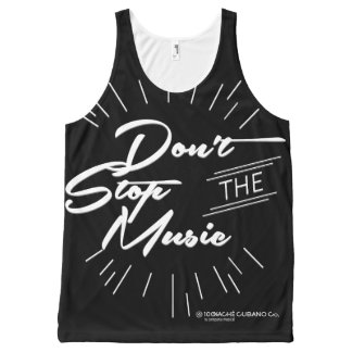 Don't Stop the Music Unisex Tank