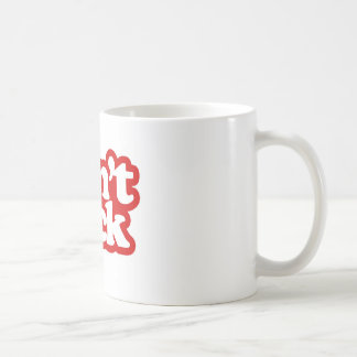 don't suck - red mug