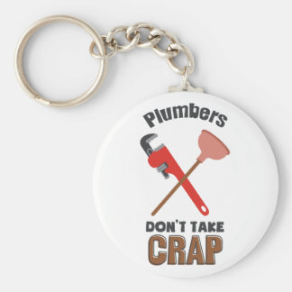 Dont Take Crap Keychain