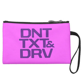 Don't Text and Drive Wristlets
